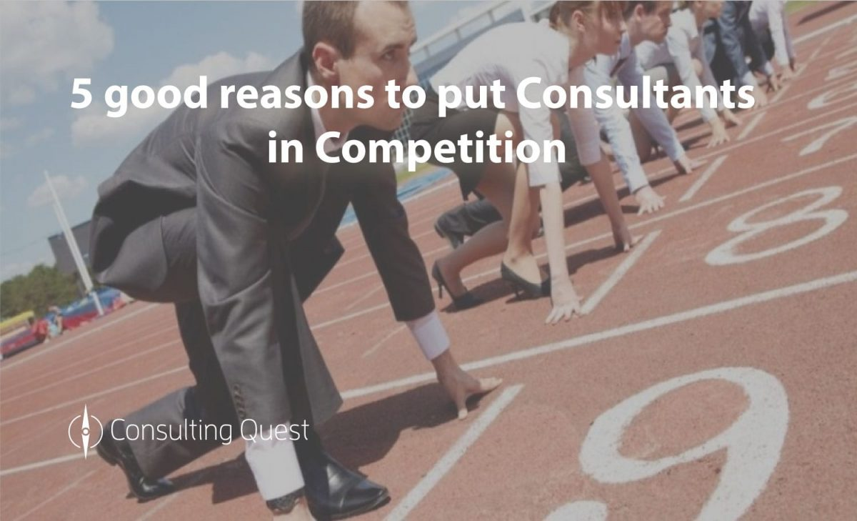 Why Put Consultants In Competition?
