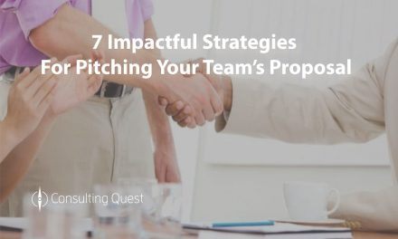 Learn the Secrets Behind an Sucessful Consulting Pitch