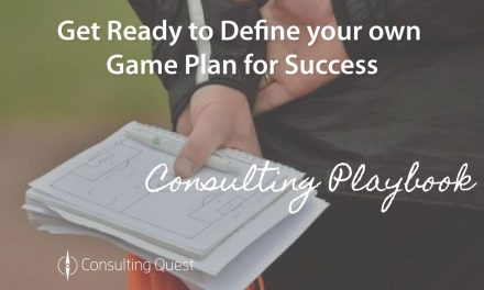 Consulting Playbook: Collect Best Practices to Take the Lead and Score Consistently