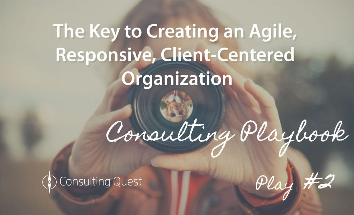 Consulting Playbook: Implementation of a Client-Centric Organization
