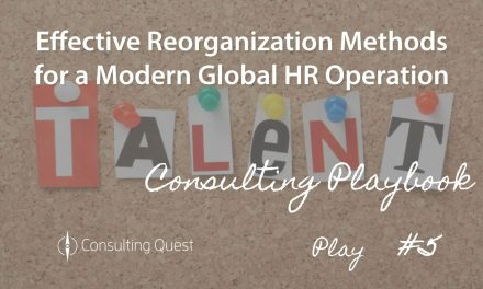 Consulting Playbook: Building Modern HR Practices and How That Impacts Your Organization