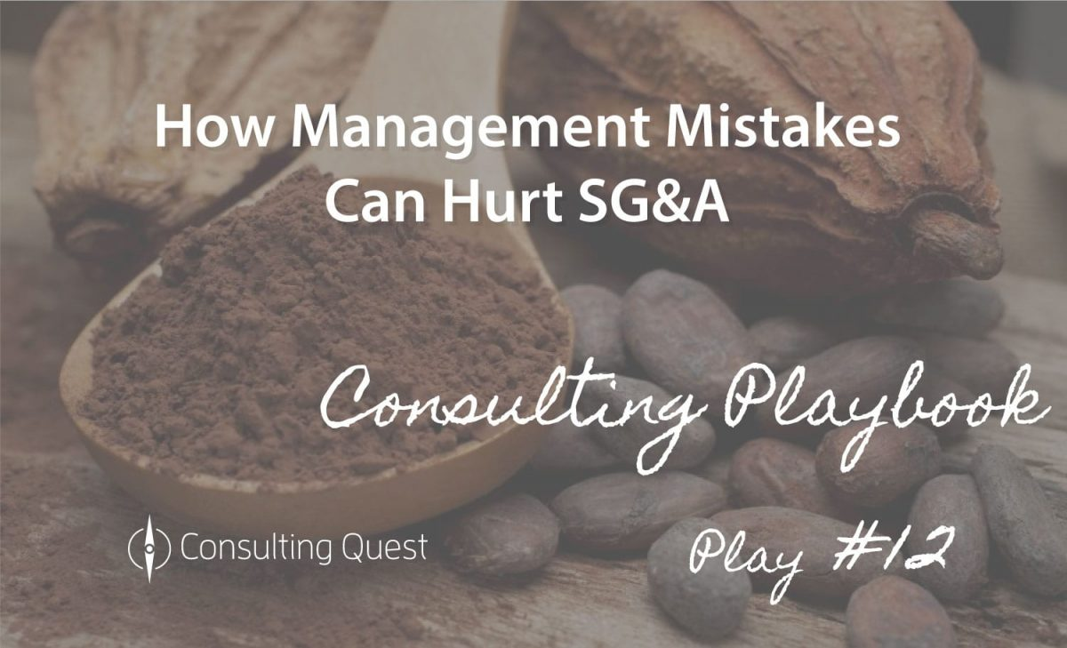 Consulting Playbook: A Smarter Growth Approach in Reducing SG&A Costs