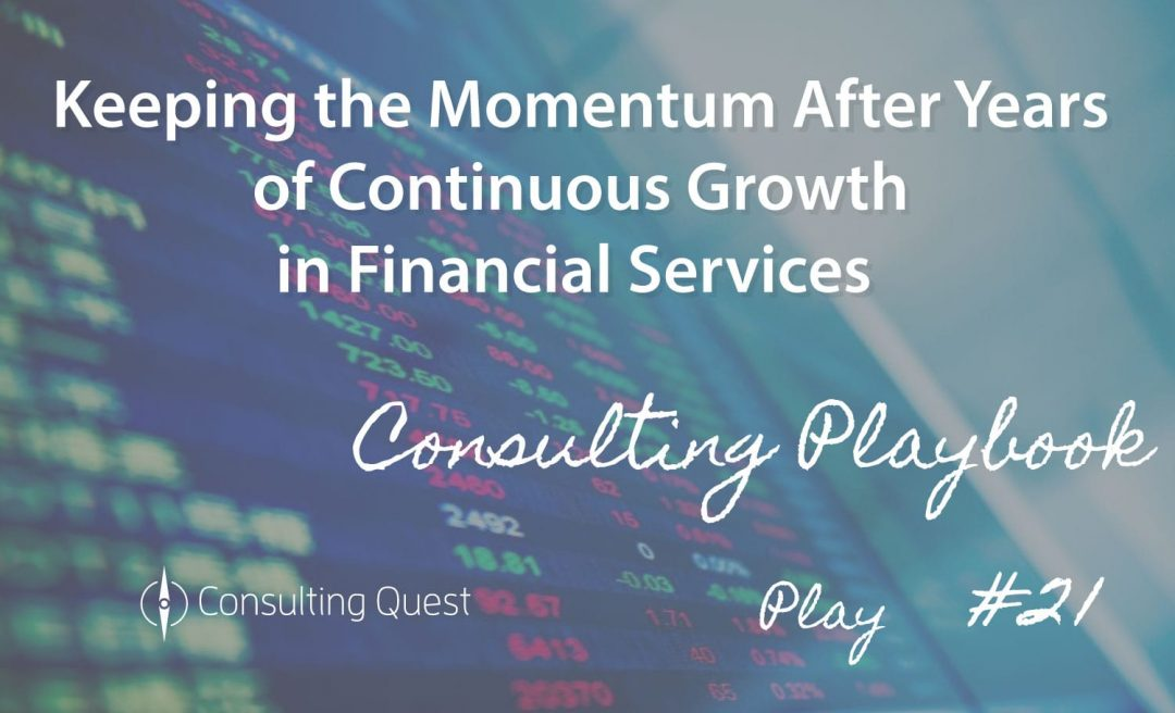 Consulting Playbook: Optimizing portfolio and program management in Financial Services