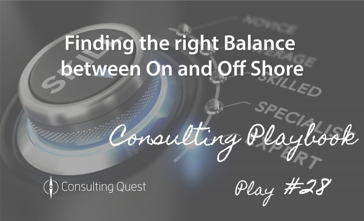 Consulting Playbook: Creating a Framework for On-shoring Export Controlled Work