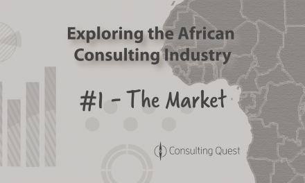 An African Consulting Market already significant and with huge Potential