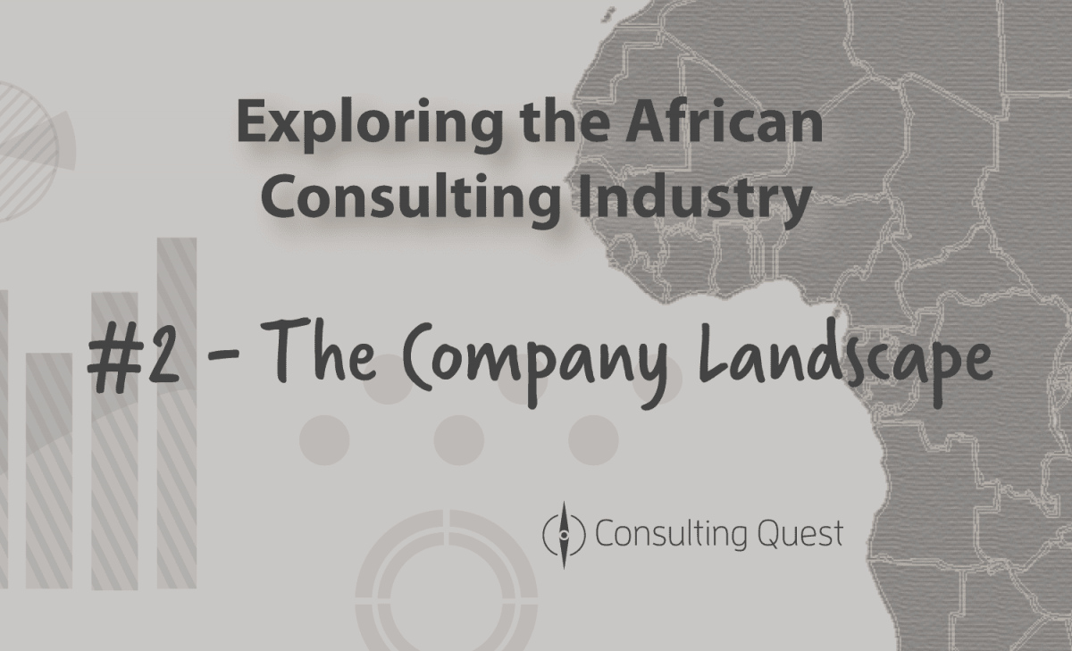 An African Consulting Industry still dominated by Foreign Companies