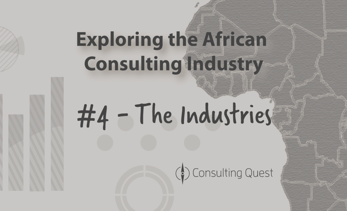 The African Market Structure is still driven by the large Companies