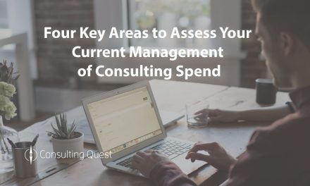 Self-Diagnostic to Improve the Management of Your Consulting Spend