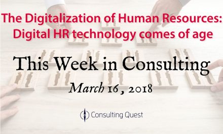 This Week in Consulting: New Trends & Solutions in Human Resource Management