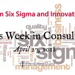 This Week in Consulting: Combining Lean Six Sigma with Innovation