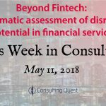This Week in Consulting: Everything Fintech Innovation