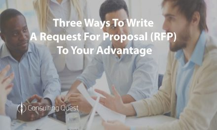 Write RFPs that maximize the chances of success of your consulting projects
