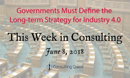This Week in Consulting: Governing in the Age of Disruption