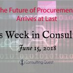 This Week in Consulting: The Next-Generation Procurement