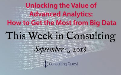 This Week in Consulting: Getting the Most From Big Data