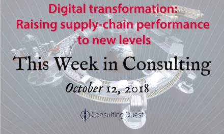 This Week in Consulting: Digital Transformation