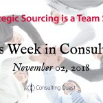 This Week in Consulting: Strategic Sourcing is a Team Sport