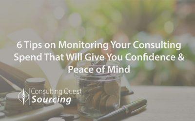 consulting spend