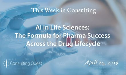 This Week in Consulting: Artificial Intelligence in Life Sciences