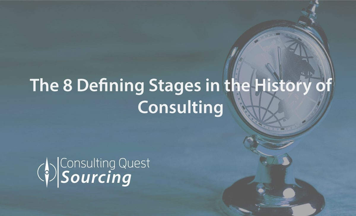The 8 Defining Stages in the History of Consulting