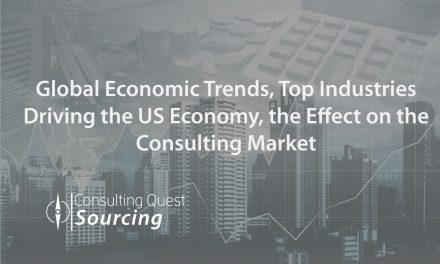Global Economic Trends, Top Industries Driving the US Economy, the Effect on the Consulting Market