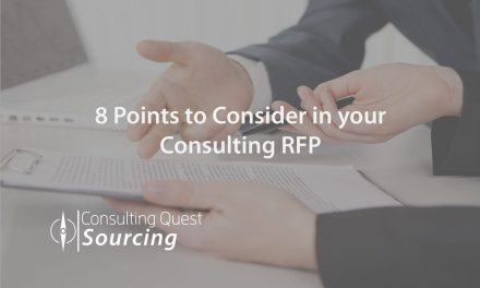 The Importance of the Other Elements in your Consulting RFP – 8 Points to Consider