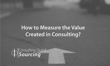 How to measure the value created in Consulting?