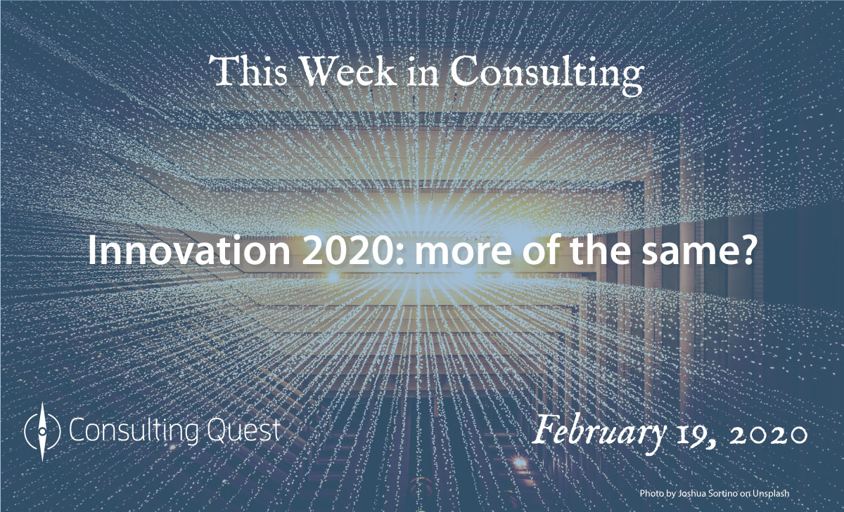 This Week in Consulting: Is Actuary ready for the looming digital revolution?