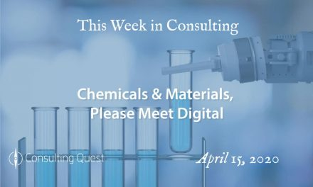 This Week in Consulting: Chemicals & Materials, Please Meet Digital