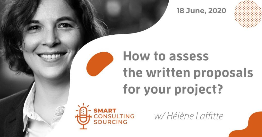 Podcast | How to assess the written proposals for your project?