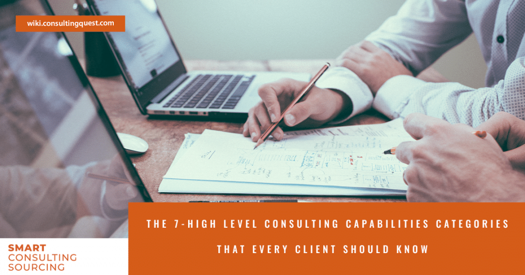 The 7-High Level Consulting Capabilities Categories That Every Client Should Know