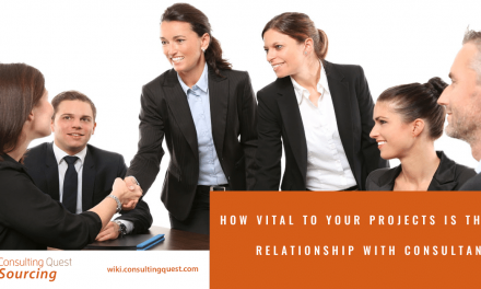 How Vital to Your Projects is The Relationship With Consultants?