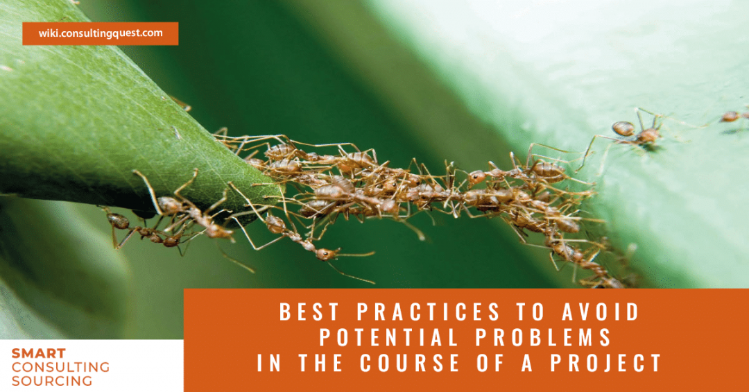 8 Best Practices to Avoid Potential Problems in the Course of a Consulting Project