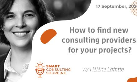 Podcast | How to find new consulting providers for your projects?