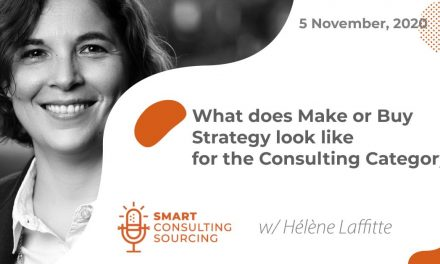 Podcast | What does make or buy strategy look like for the consulting category?