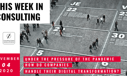 This Week In Consulting: Covid19: How do companies handle their digital transformation?