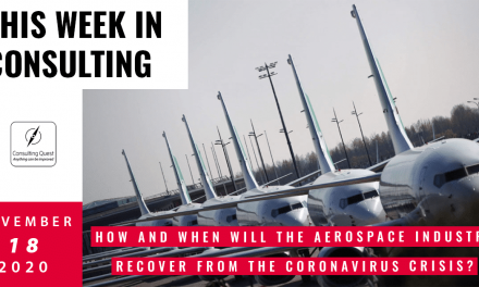 This Week In Consulting: How and when will the Aerospace Industry recover from the coronavirus crisis?