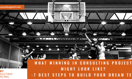 What Winning in Consulting Projects Might Look Like?
