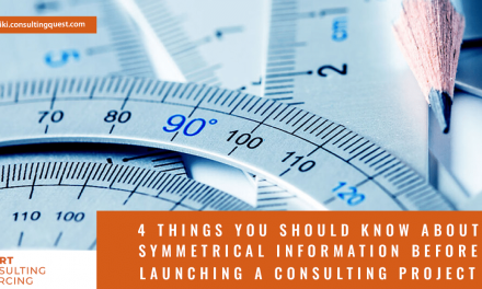 4 things you should know about asymmetrical information in Consulting