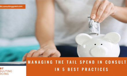 Our 5 recommended practices to Avoid the Most Common Mistakes in Managing The Tail Spend