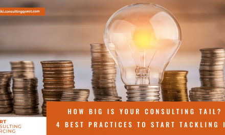 How big is your consulting Tail – 4 best practices to start tackling it