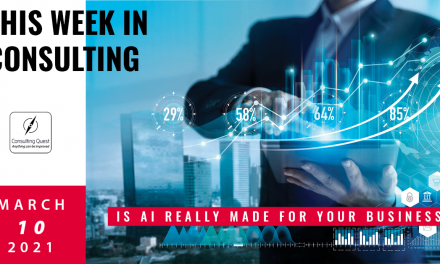 This Week In Consulting: Is AI really made for your business?