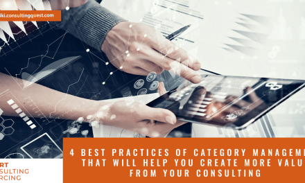 4 best practices of category management that will help you create more value from your consulting