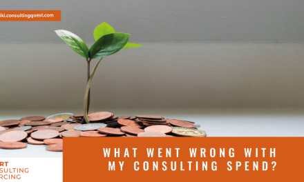 What went wrong with my consulting spend?