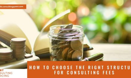 How to choose the right structure for consulting fees?