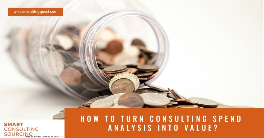 How to turn consulting spend analysis into value?